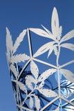 位于大教堂广场的酒杯纪念碑,克赖斯特切奇,新西兰 库存图片