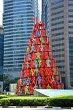 位于新加坡的雕塑动量 库存图片