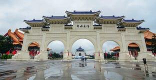 位于自由广场的中国拱道 库存照片