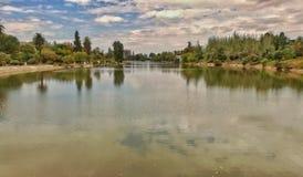 位于Mendoza -阿根廷的圣MartÃn公园 免版税库存图片
