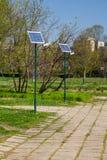 位于t的公开照明设备生态系统 免版税库存照片