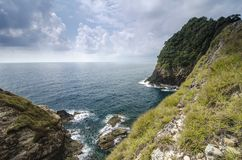 位于Terenganu的Kapas海岛暗藏的秀丽,马来西亚在 库存图片