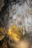 位于Uhlovitsa洞在Mogilitsa东北部村庄的3 km  图库摄影