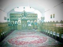 12位传道者偏僻寺院在Bucovina 免版税库存图片