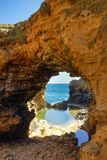 12位传道者澳洲极大的海洋路 免版税图库摄影