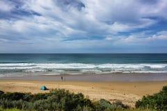12位传道者澳洲极大的海洋路 免版税库存照片