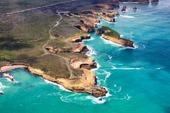 12位传道者澳洲极大的海洋路 免版税库存图片