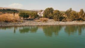 12位传道者的东正教 加利利海 Capernaum r 股票录像