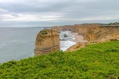 12位传道者,大洋路,维多利亚澳大利亚2017年10月 免版税库存照片