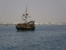 04位加勒比海盗 库存图片