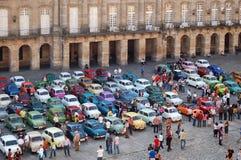 位子狂欢活动-孔波斯特拉的圣地牙哥 免版税库存照片