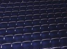 位子荡桨样式观众席室内事件企业研讨会 免版税库存照片