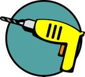 位查询电手工工具向量 免版税库存图片