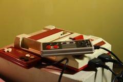 8位电子游戏控制台 免版税库存照片