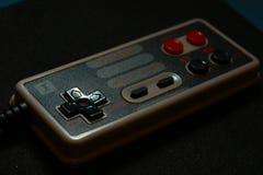 8位电子游戏控制杆 免版税库存照片