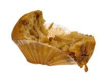 位规模苹果打破的香料松饼 免版税库存照片