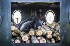 低功率蒸汽引擎 库存图片