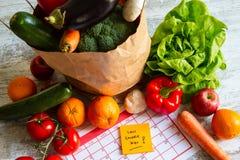 低卡路里食物 库存图片