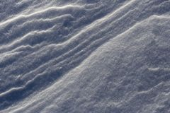 低吹雪 免版税图库摄影