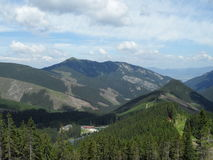 低国家公园斯洛伐克tatras 库存照片
