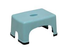 低塑料凳子 免版税图库摄影