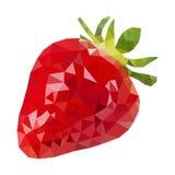 低多草莓 免版税库存图片