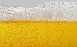 低度黄啤酒 免版税库存图片