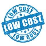 低成本橡胶传染媒介邮票 库存例证