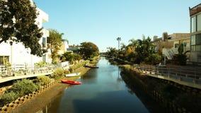 低潮中威尼斯的运河 影视素材