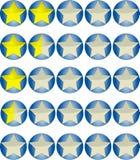 低率星形 库存图片