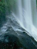 更低的南部秋天,银下跌国家公园,俄勒冈 免版税库存图片