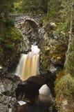 更低的桥梁, Bruar的秋天 免版税库存照片