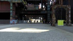 更低的VÃtkovice俄斯拉发的鼓风炉地区 影视素材