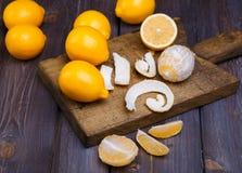低调柠檬 免版税库存照片