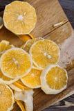 低调柠檬 图库摄影