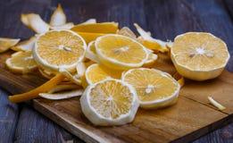 低调柠檬 库存图片