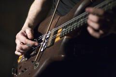低音吉他 免版税库存照片