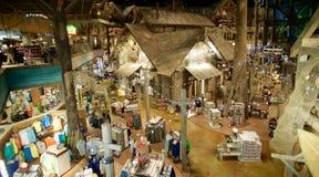 低音赞成商店的里面鸟瞰图,孟菲斯田纳西 免版税库存照片