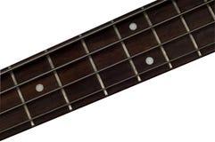 低音fretboard吉他 免版税图库摄影