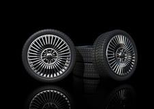 低mags描出体育运动轮胎 库存照片