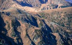 低Tatras山,斯洛伐克 免版税库存照片
