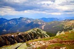 低Tatras视图 库存照片