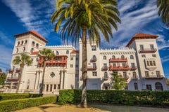 住处莫妮卡旅馆在圣奥斯丁,佛罗里达 库存图片