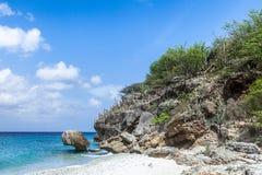 住处Aboui海滩 免版税库存照片