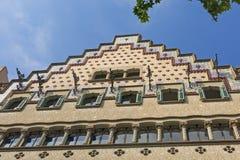 住处Ametller,一个现代派大厦由何塞普德普伊赫设计了我Cadafalch 巴塞罗那西班牙 免版税库存照片