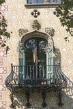 住处Ametller,一个现代派大厦由何塞普德普伊赫设计了 库存图片