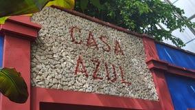 住处Azul 库存照片