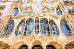 住处Batllo大厦在巴塞罗那 免版税库存图片
