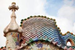 住处Batllo巴塞罗那 免版税库存照片