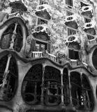 住处Batlo在巴塞罗那夏天2015年 库存图片